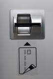 Fessura per carta della macchina della Banca di BANCOMAT Fotografie Stock Libere da Diritti
