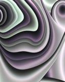 Fessure fredde di frattalo Fotografia Stock