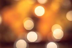 Festão belamente borrada das luzes de Natal imagem de stock royalty free