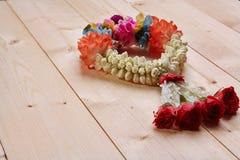 Festão branca do jasmim Imagens de Stock Royalty Free