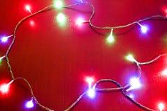 Festão brilhante do Natal Fotografia de Stock