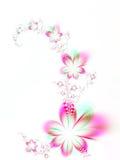 Festão das flores Fotografia de Stock