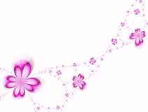 Festão das flores Imagens de Stock