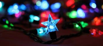 A festão de ano novo Fotografia de Stock