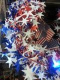 Festão do Dia da Independência Fotos de Stock