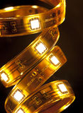Festão do diodo emissor de luz Imagens de Stock