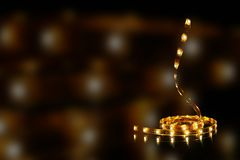 Festão do diodo emissor de luz Imagens de Stock Royalty Free