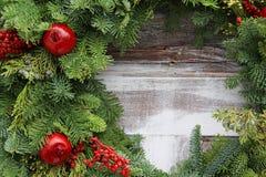Festão do Natal imagens de stock