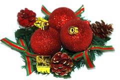 Festão do Natal fotos de stock