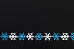 Festão dos flocos de neve Imagem de Stock Royalty Free