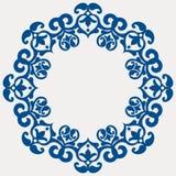 Festão floral redonda ilustração royalty free