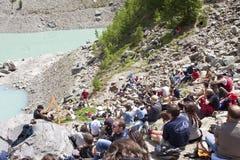 Fest долины Aosta кельтское Стоковая Фотография