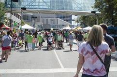 Fest annuel d'Irlandais de Kansas City Photographie stock