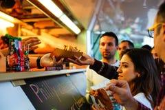 Fest 2017, Bucarest, Romania dell'alimento della via Immagine Stock