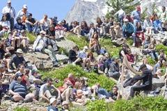 Fest celtique de vallée d'Aosta Image libre de droits