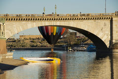 Fest de ballon de Lake Havasu images stock