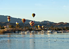 Fest de ballon de Lake Havasu Photographie stock libre de droits