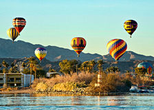 Fest de ballon de Lake Havasu photo libre de droits