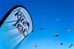 Fest de cerf-volant de Redcliffe photographie stock libre de droits
