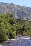 Fest del fiume di Yampa, Steamboat Springs, Colorado immagini stock