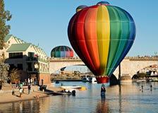 Fest del globo de Lake Havasu Fotografía de archivo libre de regalías