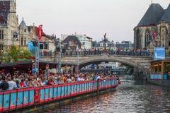 Fest 2014 del señor del festival de música de la calle Fotografía de archivo libre de regalías