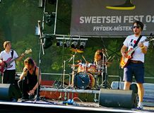 Fest 2014 di Sweetsen Fotografia Stock
