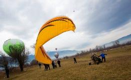 Fest do balão de Bulgária Razlog Fotografia de Stock Royalty Free