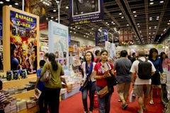 Fest för 2013 böcker på Malaysia KLCC Arkivfoton