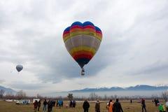 Fest för BulgarienRazlog ballong Royaltyfria Bilder