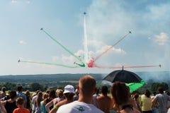 Fest internazionale slovacco 2015, Sliac, Slovacchia dell'aria Fotografia Stock