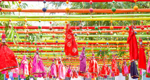 Fest Jaipur de la literatura Foto de archivo libre de regalías