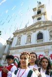 Fest Nasz dama Achiropita Fotografia Stock