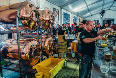 Fest in Pilsen stockfotografie