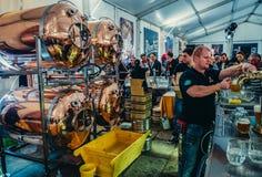 Fest in Pilsen Stock Photography