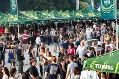 Fest verde de Tuborg Fotografía de archivo