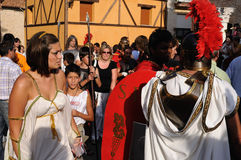 FEST von BACCHUS. Burgos .SPAIN Lizenzfreies Stockbild