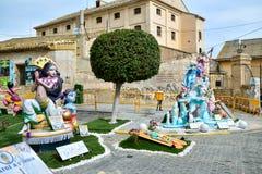 Fest von Failles in Spanien lizenzfreies stockfoto