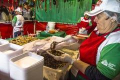 Fest von San Gennaro lizenzfreies stockfoto