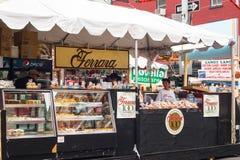 Fest von San Gennaro NYC Stockfoto