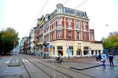 Festa ad Amsterdam ed al paesaggio del volendam Fotografie Stock Libere da Diritti