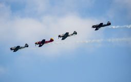 FESTA AL CEL AIRSHOW Royalty Free Stock Photography