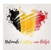 Festa belga di festa nazionale Fotografia Stock Libera da Diritti
