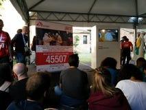 festa d'internazionale Ferrare : medicins sans des frontieres Photographie stock libre de droits