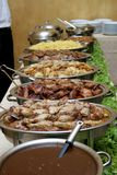 Festa da carne Imagens de Stock