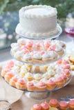 Festa da sobremesa Imagens de Stock