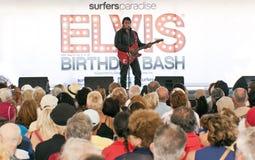 Festa de anos de Elvis Imagem de Stock Royalty Free