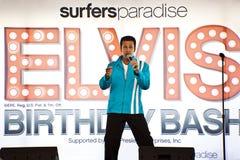 Festa de anos de Elvis Foto de Stock
