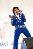 Festa de anos de Elvis Fotos de Stock Royalty Free