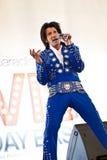 Festa de anos de Elvis Fotos de Stock